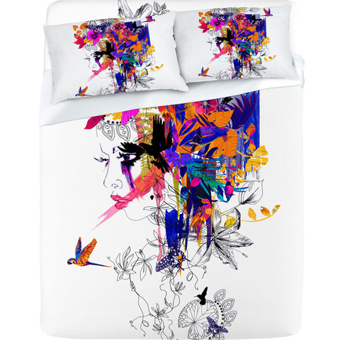 Holly Sharpe Tropical Girl Sheet Set
