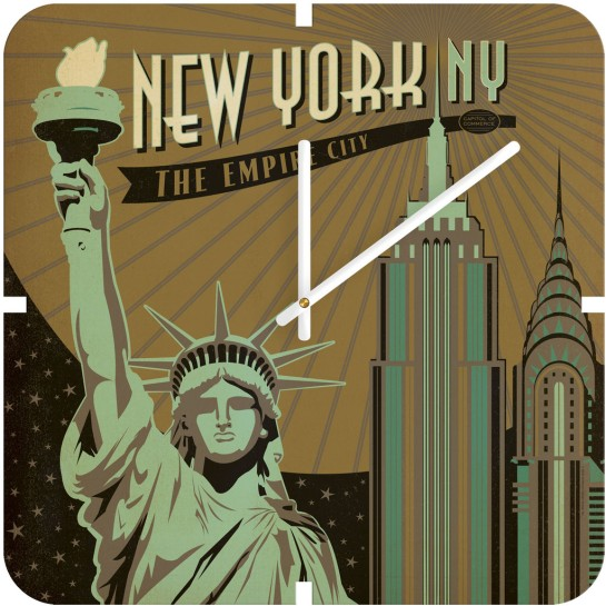 Anderson Design Group New York Custom Wall Clock