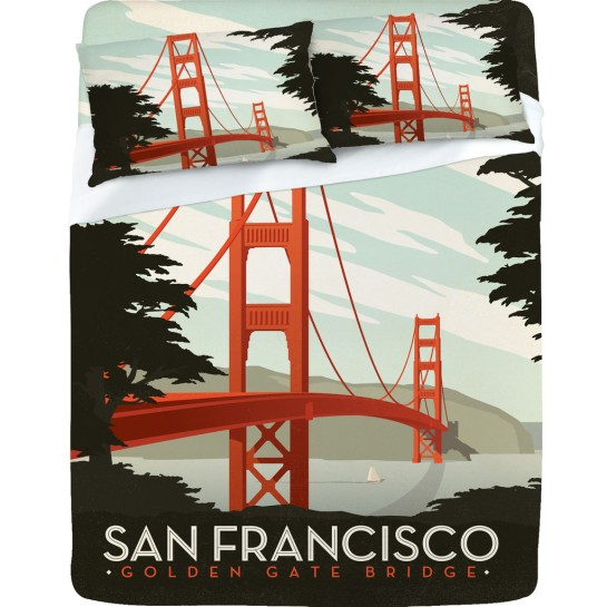 Anderson Design Group San Francisco Sheet Set