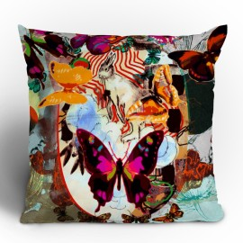 Randi Antonsen Cats 4 Throw Pillow