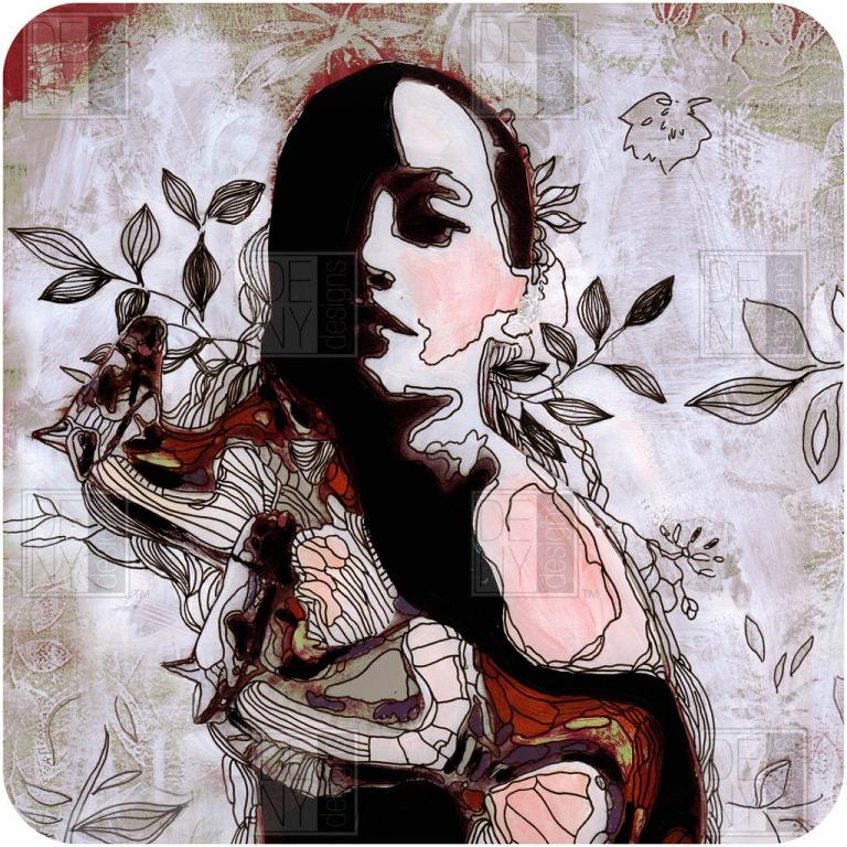 Randi Antonsen Girl and Horse Wall Art