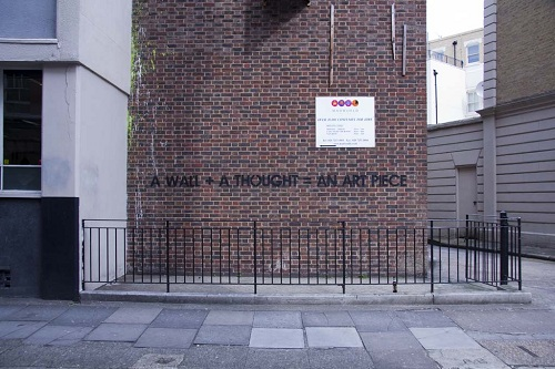 Sarcastic Much Street Artist Uses SarcasticLaced Sentences In - Sarcastic witty street art mobstr