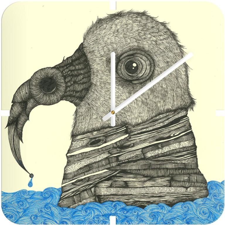 Duane Hosein One Night The Raven Custom Wall Clock