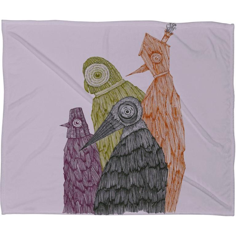 Duane Hosein We Will Never Judge Fleece Throw Blanket