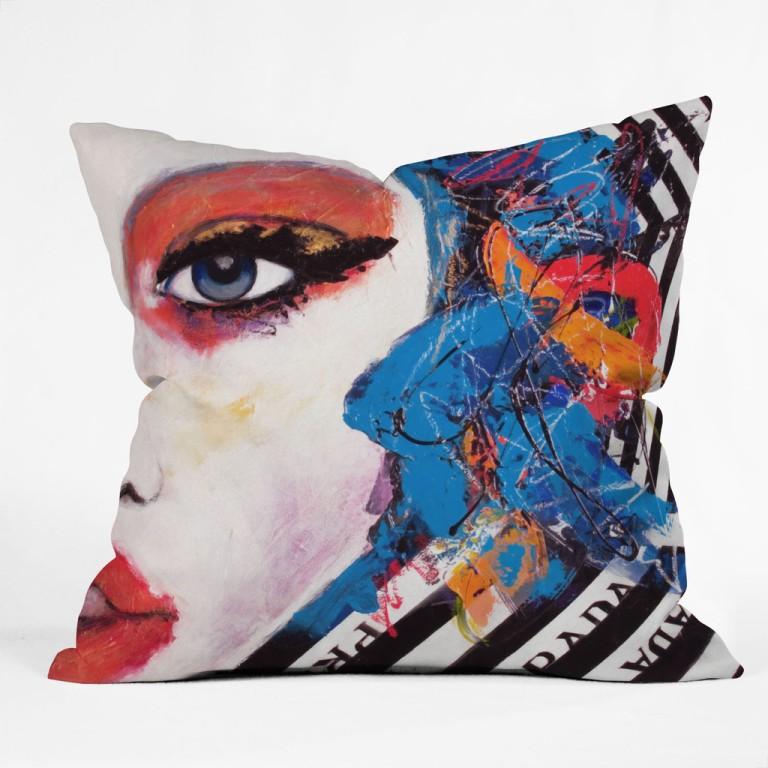 Lana Greben Real Fantasies Prada 3 Throw Pillow