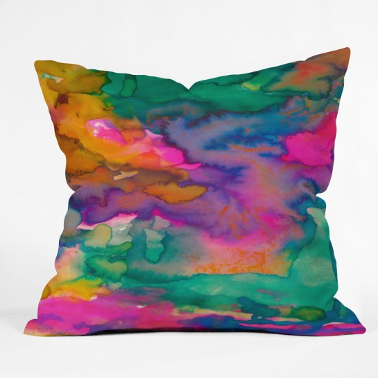 Amy Sia Ardour Throw Pillow