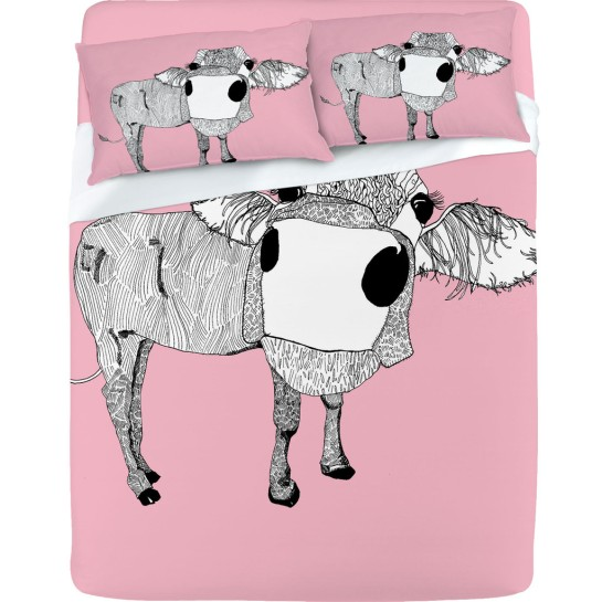 Casey Rodgers Cowface Sheet Set