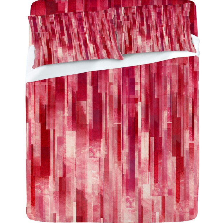 Jacqueline Maldonado Red Rain Sheet Set