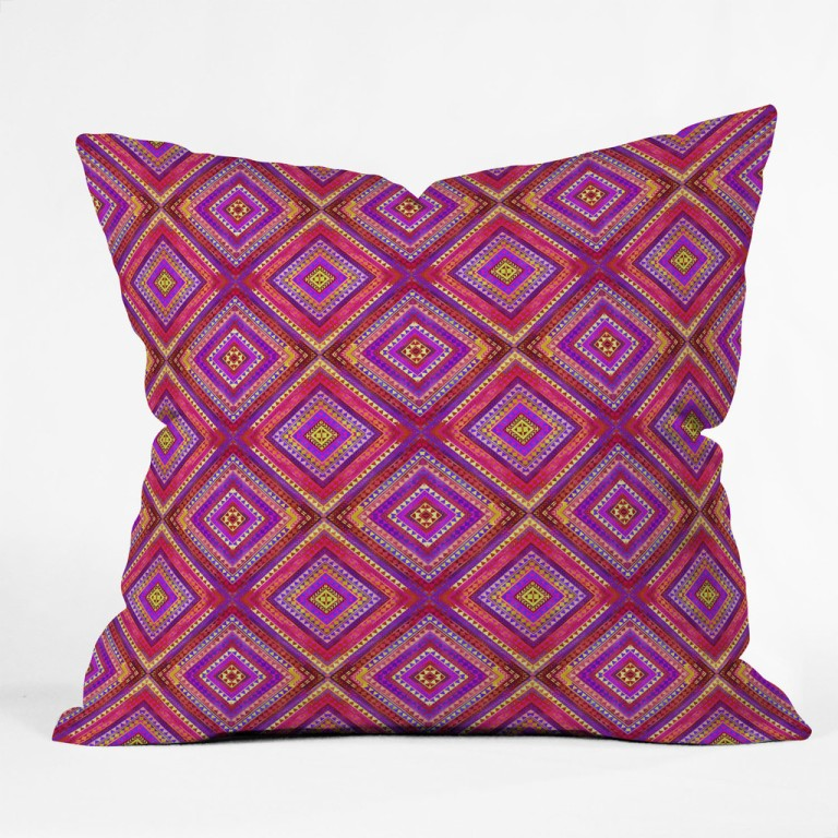 Jacqueline Maldonado Tempo 5 Throw Pillow