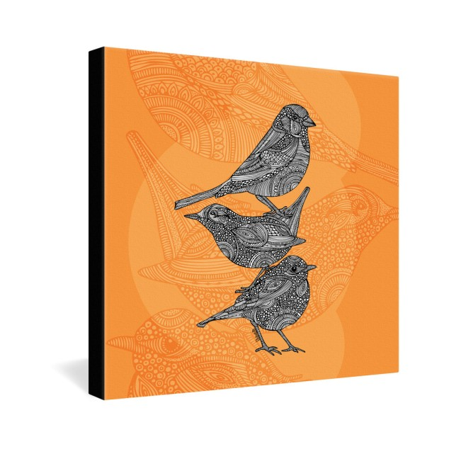 Valentina Ramos 3 Little Birds Gallery Wrapped Canvas