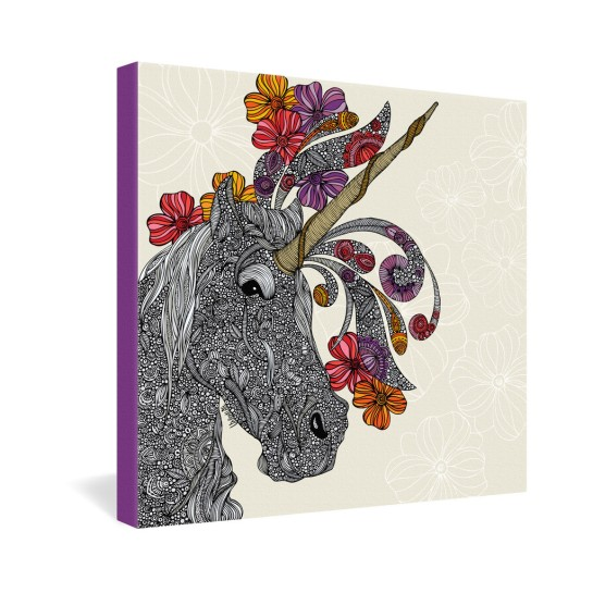Valentina Ramos Unicornucopia Gallery Wrapped Canvas
