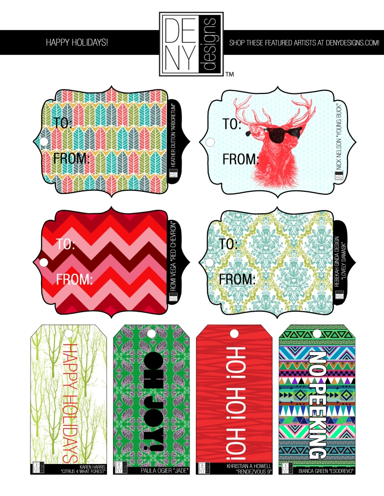 DENY Designs | Holiday Gift Tags