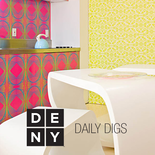 Daily Digs | Modern White Meets Pop Art Interior
