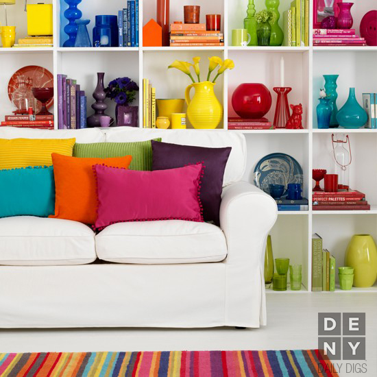 Daily Digs | Technicolor Dream Room
