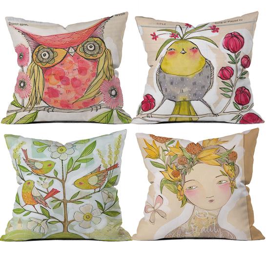Cori Dantini Throw Pillows