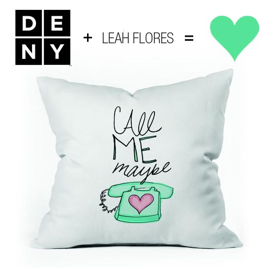 LEAHFLORES + DENY DESIGNS