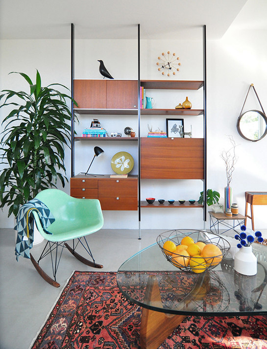 Daily digs mid century modern meets southwest deny designs - Deco interieur vintage ...