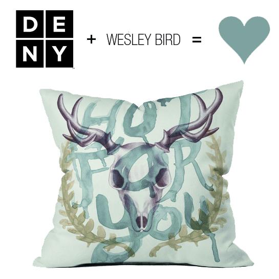 WESLEYBIRD + DENY DESIGNS