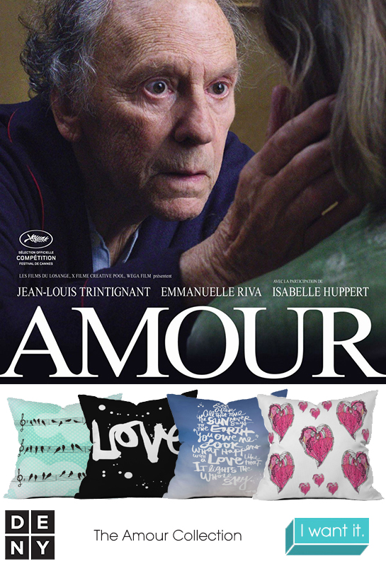 Amour | 2013 Oscar Nominations Inspire DENY Designs