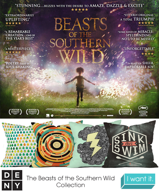 Beasts of the Southern Wild | 2013 Oscar Nominations Inspire DENY Designs