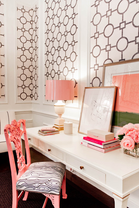 Daily Digs   Peachy Keen and Mint Green Decor
