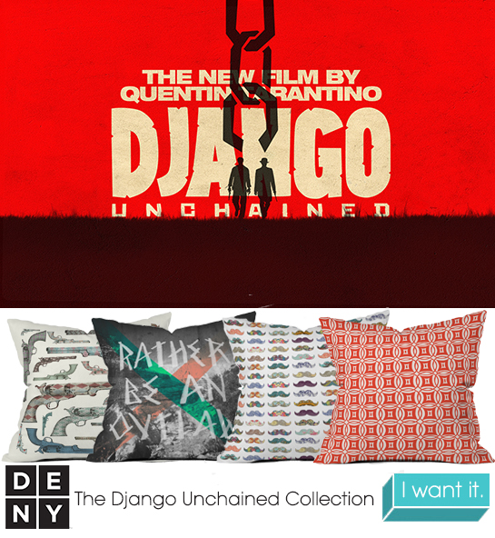 Django Unchained | 2013 Oscar Nominations Inspire DENY Designs