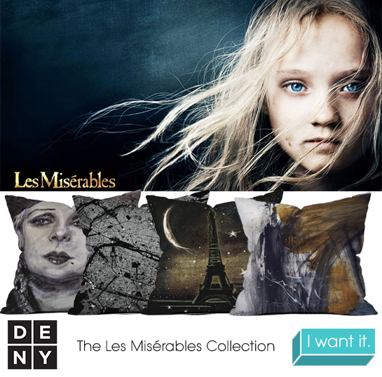 Les Miserables | 2013 Oscar Nominations Inspire DENY Designs