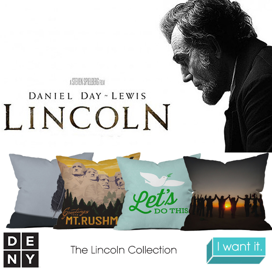 Lincoln | 2013 Oscar Nominations Inspire DENY Designs