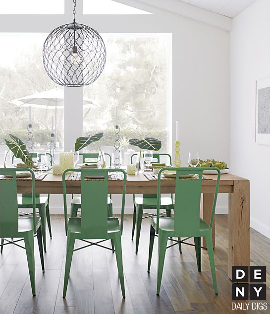 Daily Digs Mint Green Makes Dining Refreshing