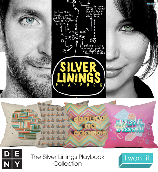 Silver Linings Playbook | 2013 Oscar Nominations Inspire DENY Designs