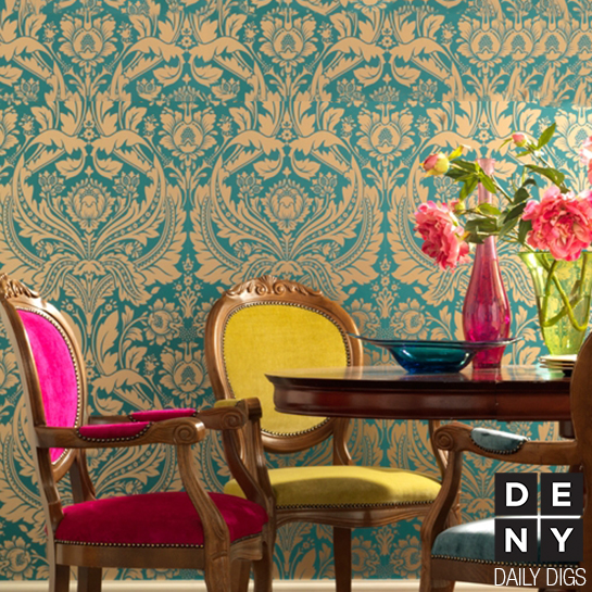 Colorful Dining Decor - Daily Digs