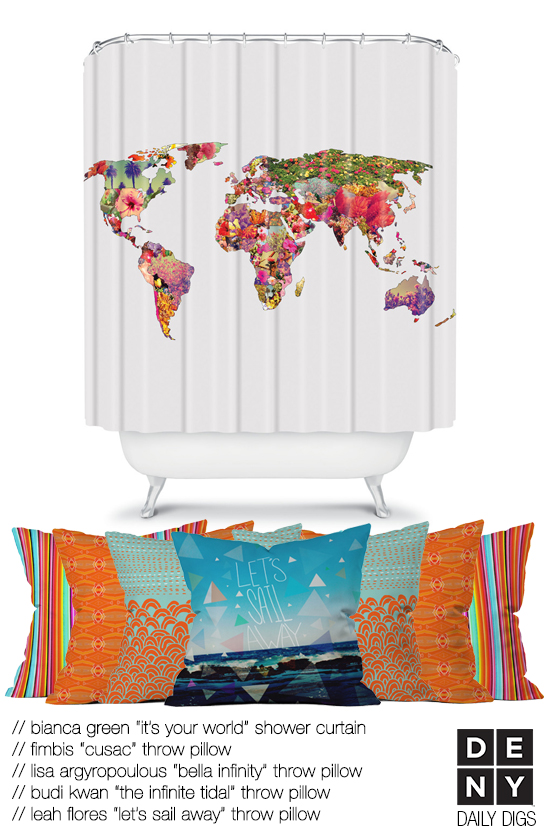 Travel Inspired Decor - DENY Designs