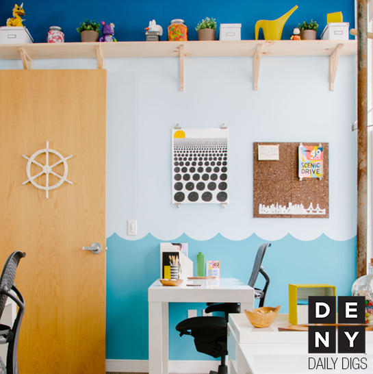 Sunny Sailing Office Decor | Daily Digs