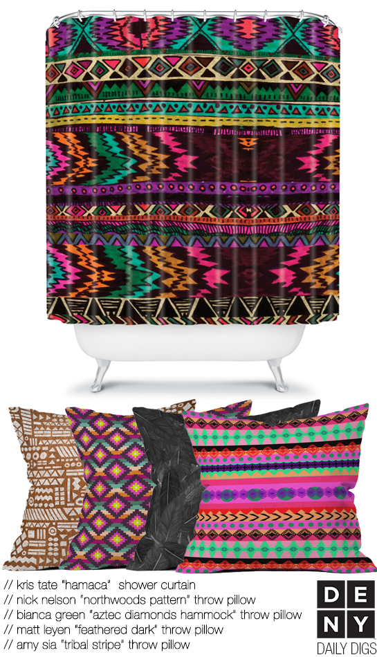 Aztec Boho Living | Daily Digs