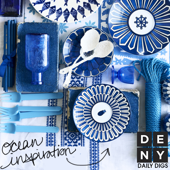Ocean Blue | Daily Digs