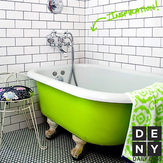 Getting Clean in Neon Green | Daily Digs