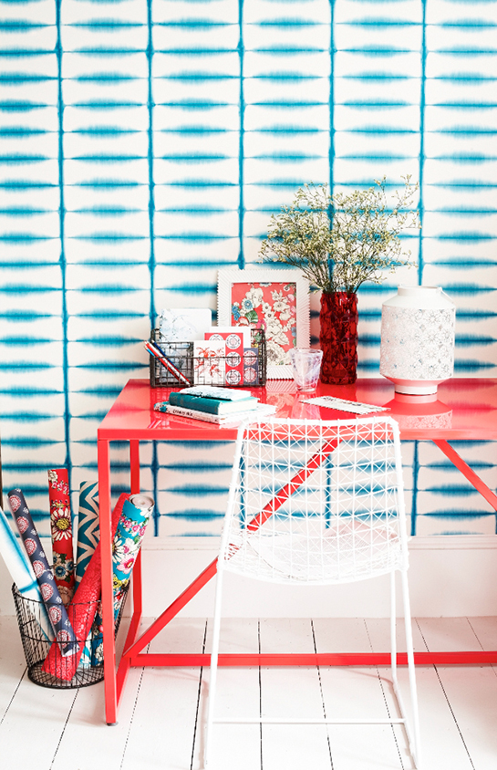 Daily Digs | Red, White and Turquoise