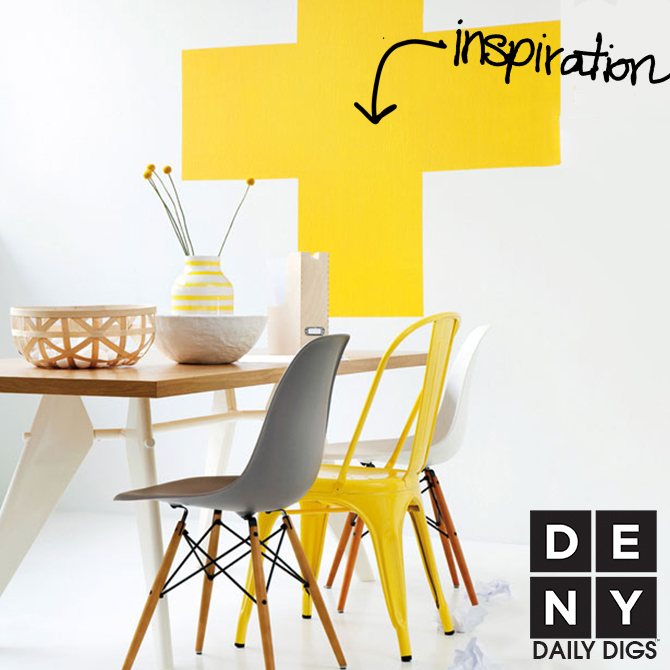 Daily Digs | Cheery White and Yellow