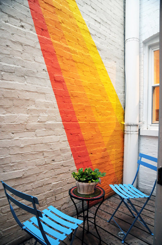 Bold and Bright Outdoor Space Inspiration | Daily Digs