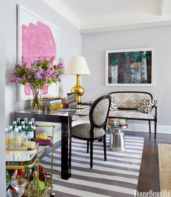 Feminine, Bold and Glamorous Decor | Daily Digs