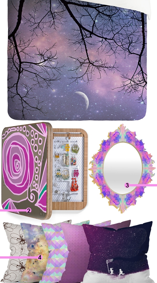 Purple Cosmic Decor | Daily Digs
