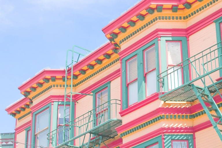 San Francisco Color Pop Decor | Daily Digs