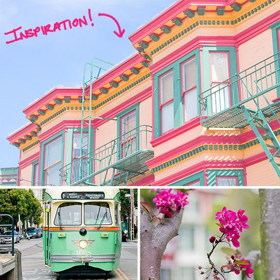 Candy Colored San Francisco Decor Inspiration | Daily Digs
