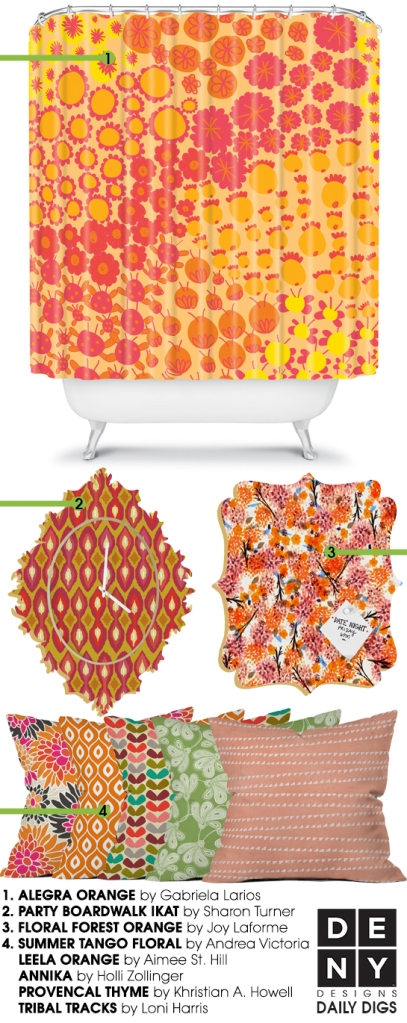 Colorful Citrus Grove Decor | Daily Digs