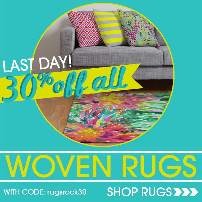 Last Day for 30% Of All Rugs!