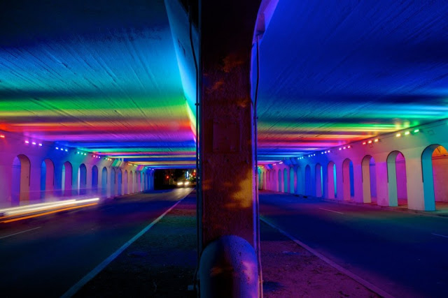 Alabama Underpass Gets Light Show