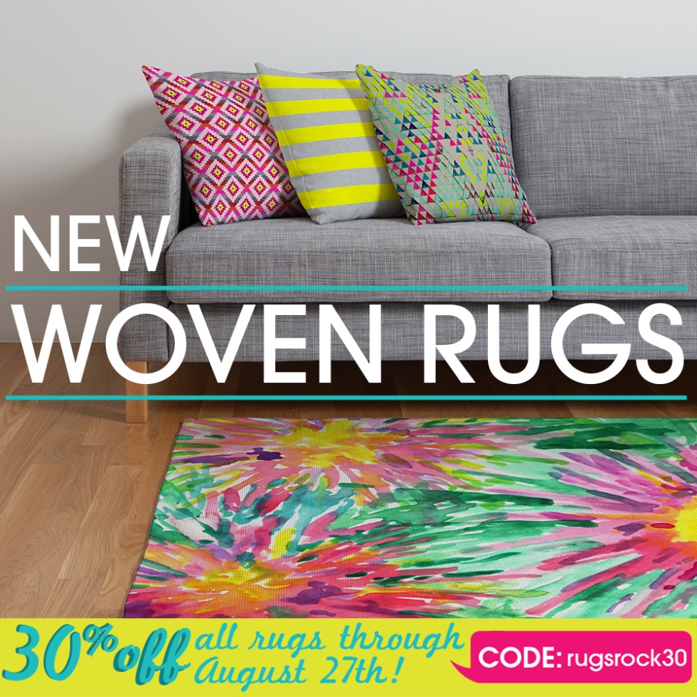New Woven Rugs Have Arrived!