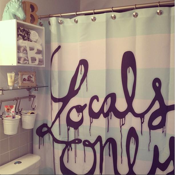 Sassy Shower Curtain
