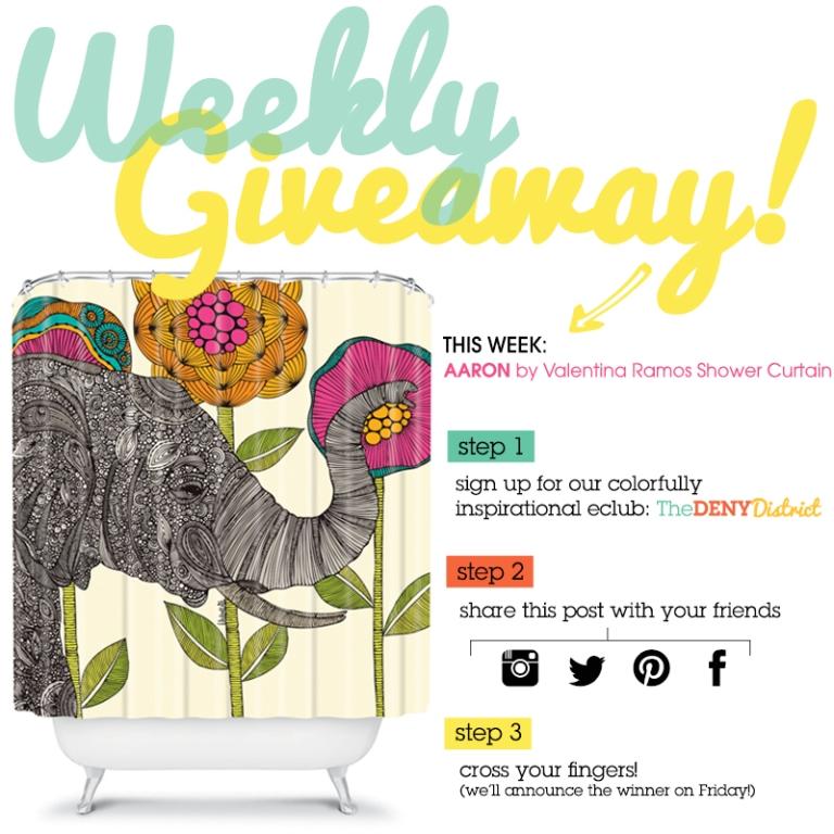 Weekly Giveaway!