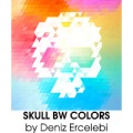skullbwcolorsbydenizercelebi